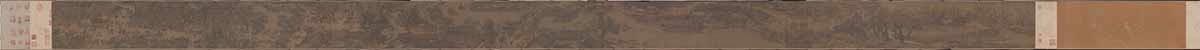 北宋 张择端 清明上河图画心绢本设色 新24.8x528.7传世名画