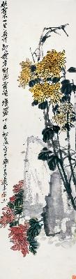 吴昌硕 002-花卉四条屏