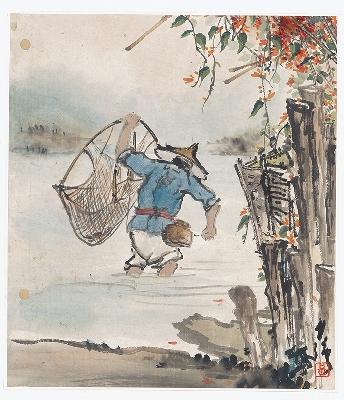 黄少强-册页(人物)-2-X 21×25