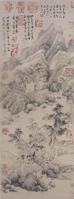 台085玄-葑泾仿古图 明董其昌