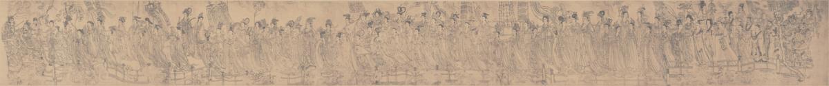 唐 佚名 八十七神仙卷(一版)292×30